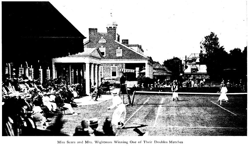 Sears and Wightman - Phila. Cricket Club - June 1915