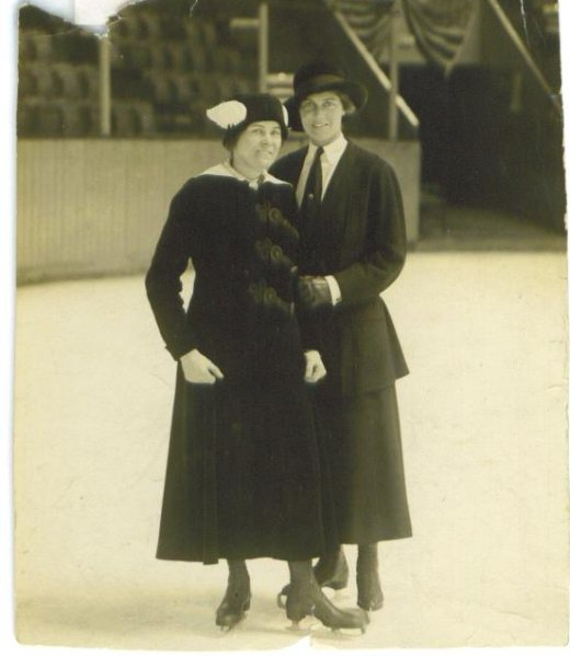 Eleo with Princess Patricia of Connaught