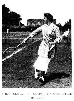 Eleo at the Merion Cricket Club - June 1910